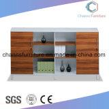 Gabinete de arquivo de madeira do escritório da boa qualidade da mobília do metal do projeto moderno