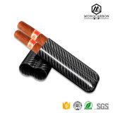 Chine Wholesale caisse de cigarette personnalisée en fibre de carbone avec deux et trois tubes 2016