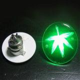 인쇄되는 로고를 가진 최신 인기 상품 LED 번쩍이는 Pin 단추 (3569)