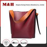 Sac d'emballage en cuir d'unité centrale de sac à main de grande capacité de dames intrinsèques de paquet