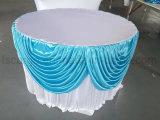 Dia 72 '' Tissu à table ronde pour fête de mariage utilisé (CGTC1711)