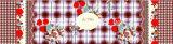 Afgedrukt Patroon Poly/Reeks van het Beddegoed van het Katoenen de Tweeling Gepaste Lapwerk van de Sprei