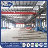 Magazzino prefabbricato galvanizzato economico della struttura d'acciaio della fabbrica della struttura d'acciaio