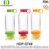 Творческая форма BPA освобождает бутылку воды Infuser плодоовощ Tritan, подгонянную пластичную бутылку воды (HDP-0749)