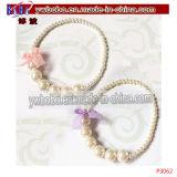 子供の真珠のネックレスのイヤリングのブレスレットの一定の結婚式のページェント(P3067)