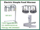 De commerciële Countertop van de Bol van de Lamp van de Hitte van het Voedsel Dubbele Geschatte Bovenkant van de Restaurants van het Hof van het Voedsel van het Buffet
