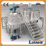 Mezclador de emulsión del vacío con el alto homogeneizador del esquileo para el cosmético