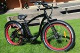 Tipo luxuoso bicicleta elétrica En15194 do cruzador da praia 2017 do pneu gordo