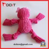 Brinquedo do produto do cão da fonte do animal de estimação do luxuoso da tela de veludo da tira da segurança do porco
