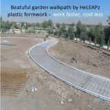 Coffrage en plastique Fléchir-Raide réutilisable de jardinage d'économie de coûts de Walkpath