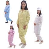 Polyster Laborantistatischer ESD-Sicherheits-Arbeits-Abnützung-Overall 100% für Cleanroom