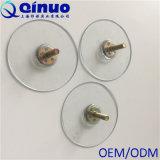Copos plásticos da sução do parafuso do costume 60mm de Qinuo com 6/21 de diâmetro
