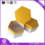 Schmucksache-Organisator-Pappkasten-verpackengeschenk-Hexagon-Kasten