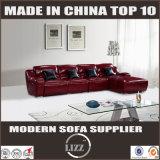 ホーム家具現代L形の革リクライニングチェアのソファー