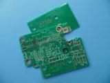 Material del circuito RO4350b del PWB del oro de la inmersión con espesor de la tarjeta de 0.8m m