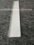 Profilé de cloison d'extrusion en aluminium revêtu en poudre d'alliage 6063 pour la conception de plafond