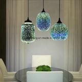 3D Lamp van de Tegenhanger van de Decoratie van de Tegenhanger Lichte voor Album of Restaurant