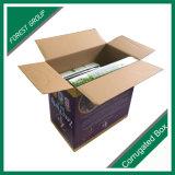 Белые Corrugated ящики коробки с изготовленный на заказ логосом