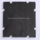 Âme en nid d'abeilles en aluminium épaisse de couleur noire (HR584)
