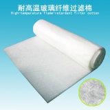 Rolo do filtro da fibra de vidro da resistência térmica para a gota de pressão inicial das centrais químicas 65PA