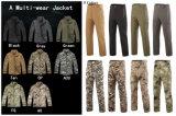 8 لون تكتيكيّ عسكريّة لباس قائد [أفّيسر] [جكت]+لهاث