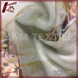 ジョーゼット純粋な絹のジョーゼットによって印刷される未加工絹のファブリックGgt