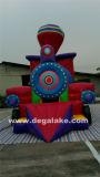 Ensemble gonflable Train Bouncy Castle Combo, Train Bouncer Sauter