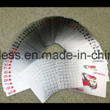 Kundenspezifische waschbare 100% spielende Schürhaken-Plastikkarten, kundenspezifische Spielkarte, Tarot