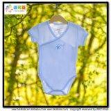 Plain Blue Baby apparel Kimono Style Baby Body
