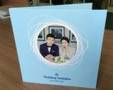 Fördernde Feld-Videokarte LCD-Bildschirm-Broschüren, die Einladungs-Karten Wedding sind