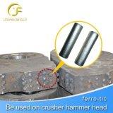 高いマンガンの摩耗の部品の増加する最大摩耗の生命のTM52鋼鉄担保付きの合金