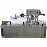 Máquina de enchimento e selagem da cubeta de tecido molhado