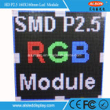 HD P2.5 Panneau de publicité à LED en plein écran pour salle de construction
