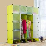 Projetos baratos plásticos dos Wardrobes do armazenamento do quarto do armário da mobília