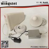 répéteur de téléphone mobile de 65dB 1900MHz 3G 4G PCS pour l'usage de maison/bureau