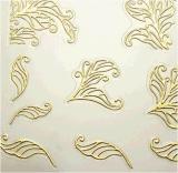 3D 은 금 꽃 못 예술 스티커 못 스티커
