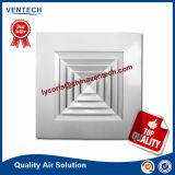 Difusor de teto de alumínio quadrado de alumínio para HVAC