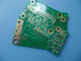 PCB de doble cara RO4350b Placa de circuito impreso Diseño de oro de inmersión