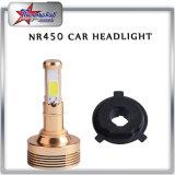 4 Side H7 H11 LED faros para coches Motos Super Bright 9005 9006 LED faro Kit de lámpara con COB Chip 45W Single Beam