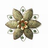 Decorazione antica della parete del fiore modellata metallo