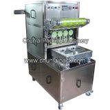 Nahrungsmitteltellersegment-Dichtungs-Verpackungsmaschine