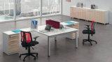 Tableau en bois d'ordinateur de poste de travail simple moderne de personnel