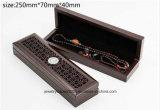 Exquis Meilleur cadeau Boîte à bijoux en bois Boîte à anneaux Pendentif Boîte à bracelet Boîte à bracelet