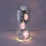 3D 밝은 발광체 점화 LED Glass&Nbsp; 빛은을%s 가진 가정 훈장을%s 전기도금을 한다