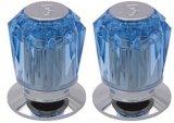 Pièces de robinet/traitement de robinet acrylique en plastique