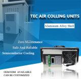 Sistema de refrigeração para gabinete de comunicação para área fechada