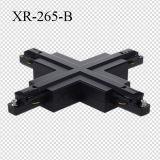 Бело/черноты/серо разъемы рельса следа формы СИД креста одиночной фазы (XR-265)