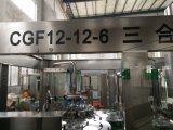 Línea de embotellamiento de la bebida del zumo de fruta/máquina del relleno en caliente (10000B/H)