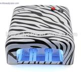 Ha personalizzato tutta la lampada di trattamento UV del materiale 818 UV dell'ABS della lampada del chiodo di stile 36W del reticolo
