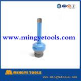 Machine de forage de puits d'eau de coupe de pierre utilisés Diamond forets de base